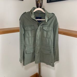 American Eagle Outfitters Faded Army Jacket